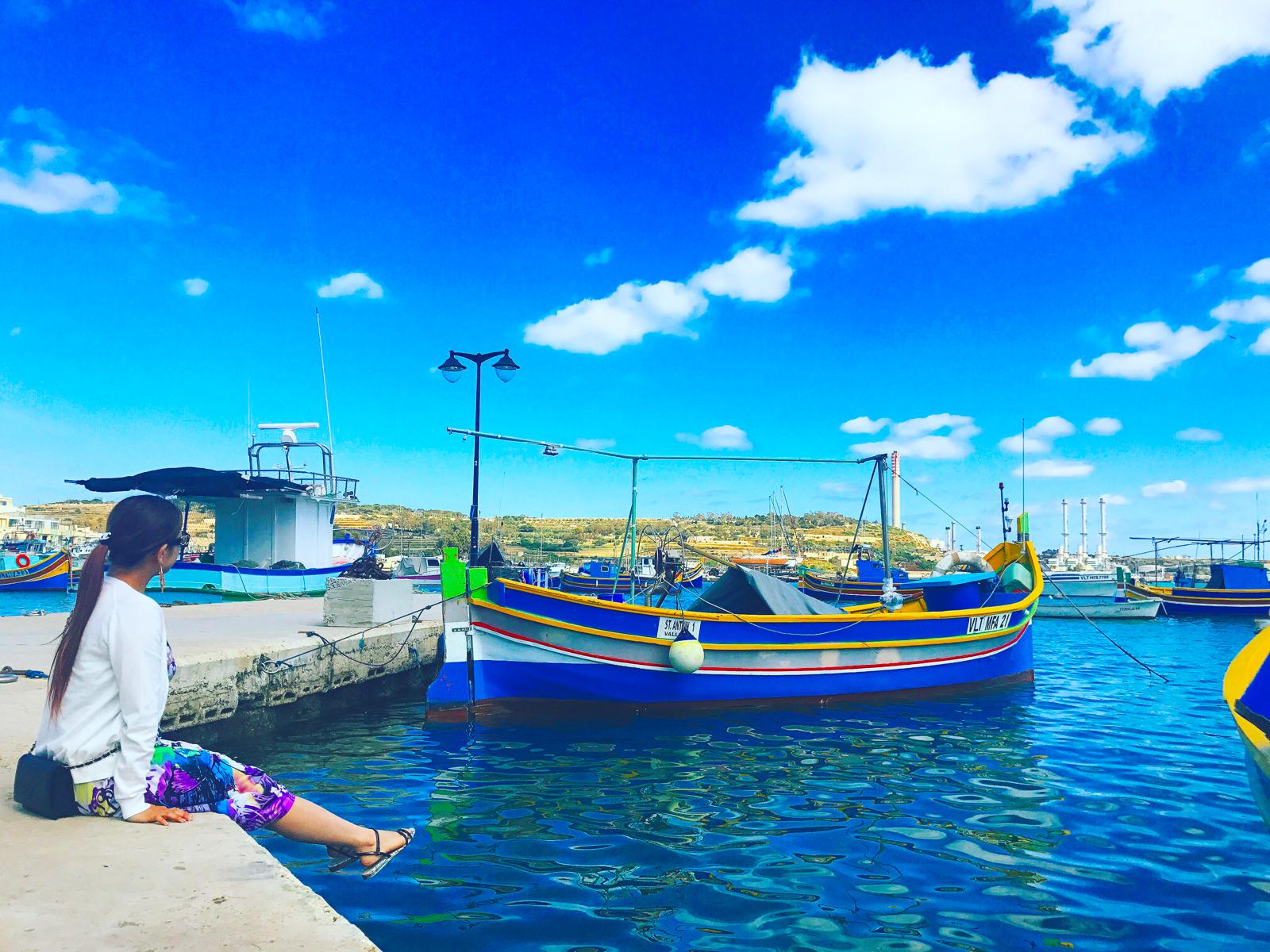 【マルサスロック】日曜朝市の行き方とオススメの魚介レストラン【マルタ共和国】