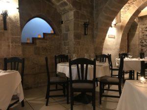 Medina restaurant 室内