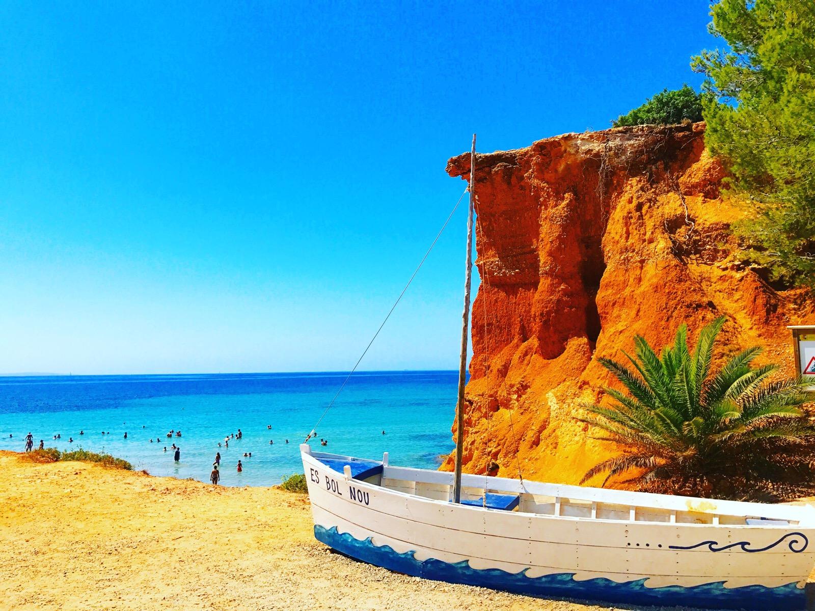 【SA CALETA】ナイトライフだけじゃない!イビザ島美しいビーチの魅力!【スペイン】